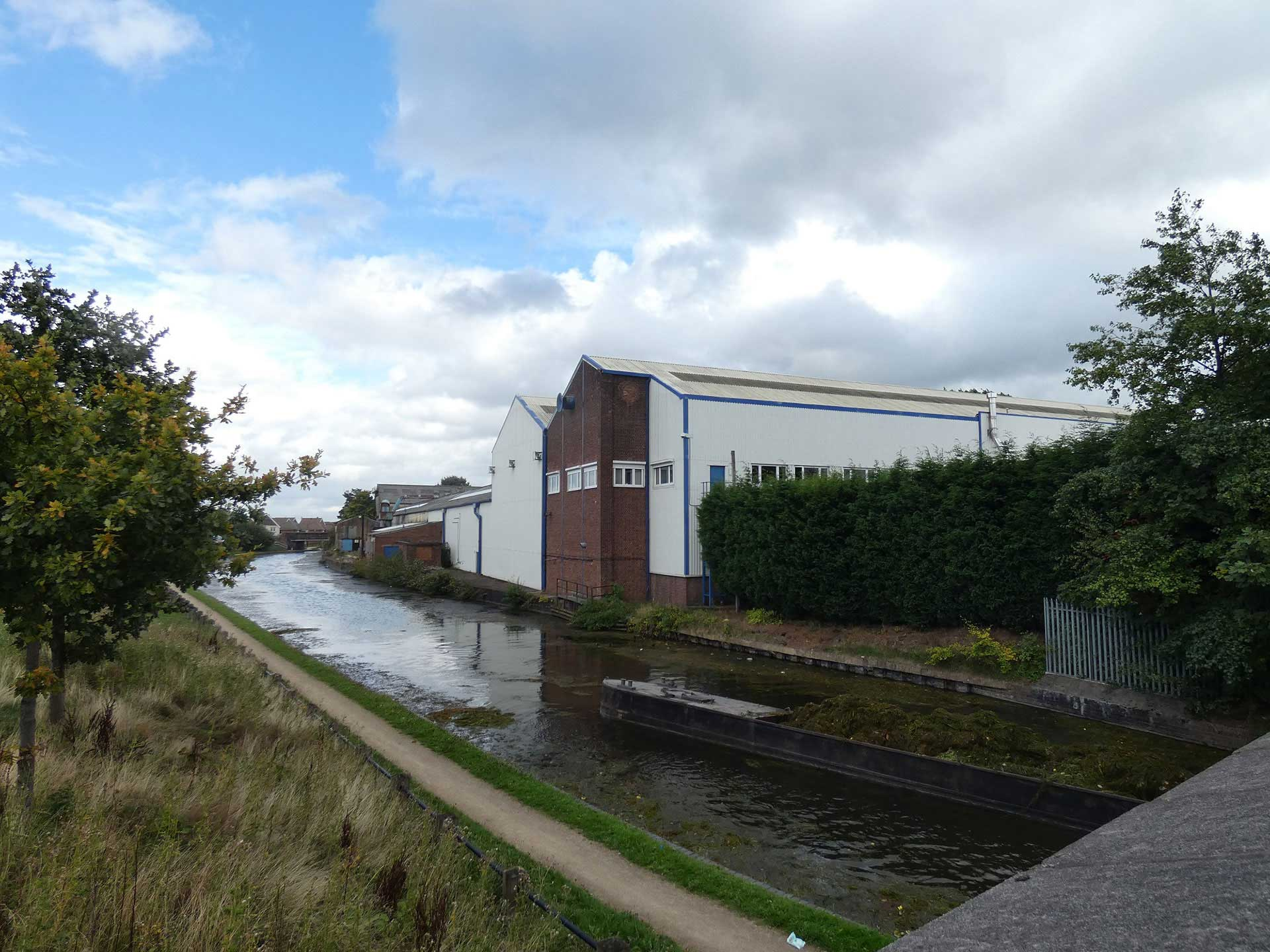 Bilston Canalside Site Available for Purchase