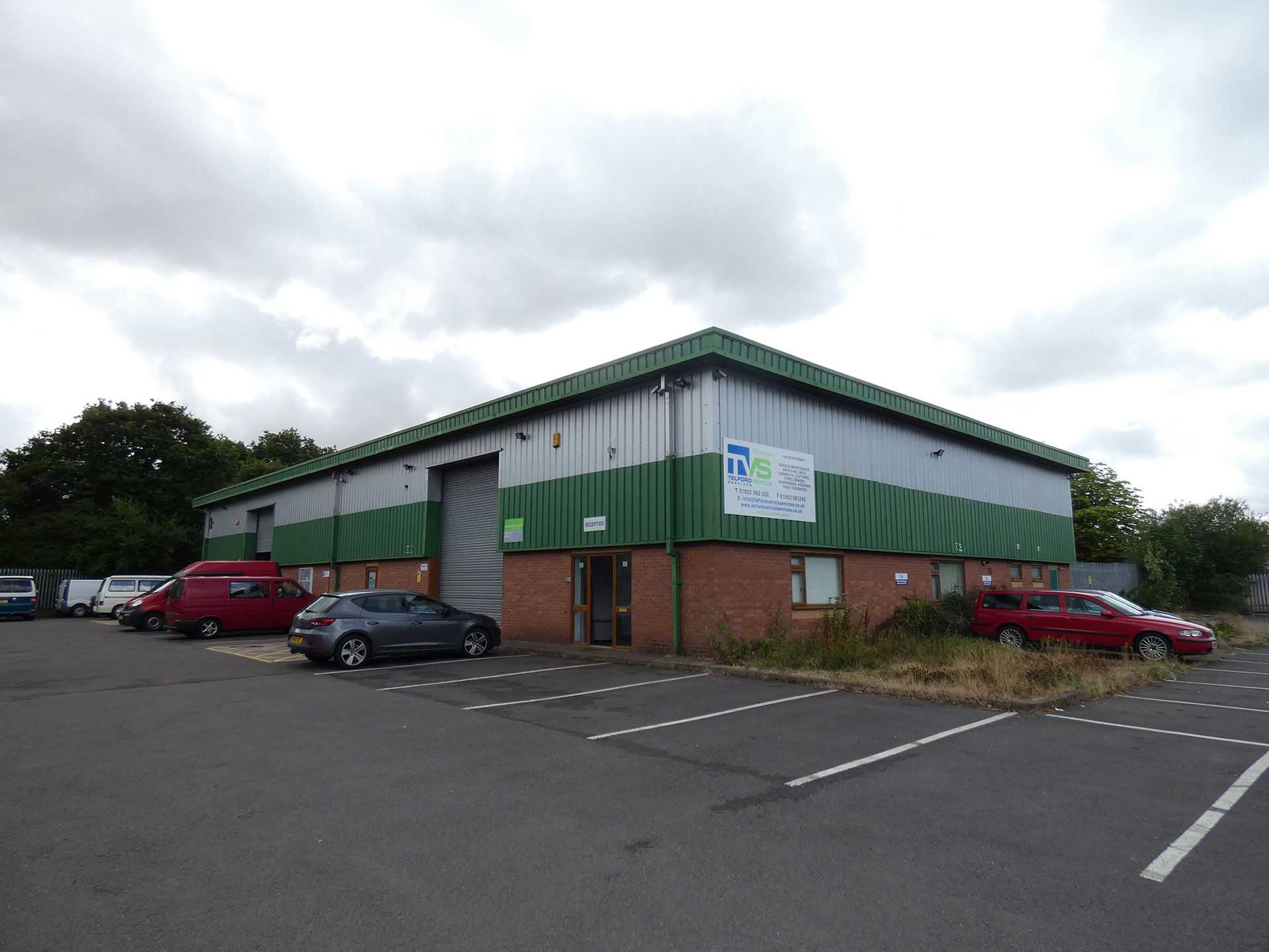 Unit 1 Halesfield 24 - Unit 1, Sovereign Park, Halesfield 24, Telford, Shropshire, TF7 4NZ