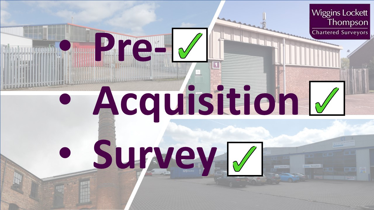 Pre-acquisition surveys