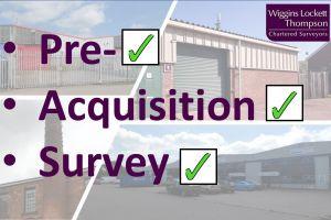 Pre-acquisition surveys